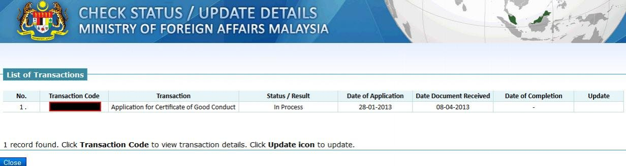 Malaysian certificate of good conduct - Page 4