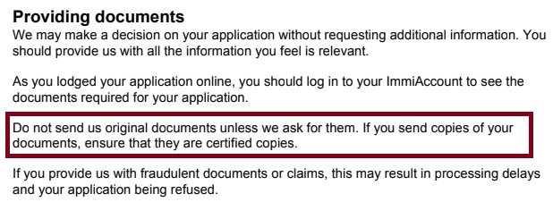 visitor Visa e600 online, DO I NEED TO CERTIFY DOCUMENTS?-hmm.jpg