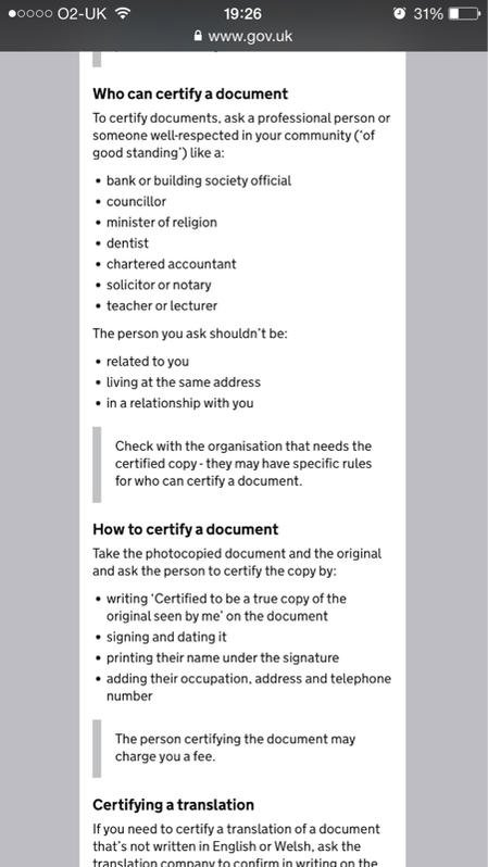 Sample Declaration Form Example on